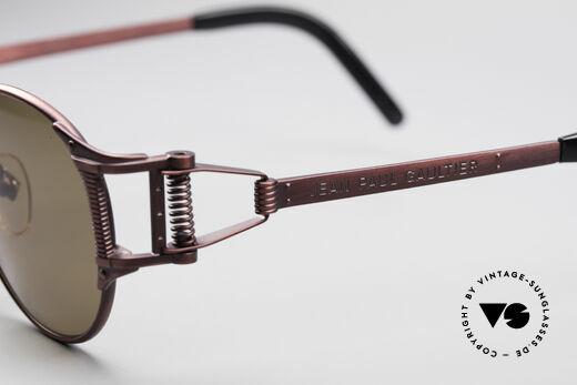Jean Paul Gaultier 56-5105 Rare Celebrity Sonnenbrille, KEINE retro Sonnenbrille; ein ca. 25 Jahre altes Original!, Passend für Herren und Damen