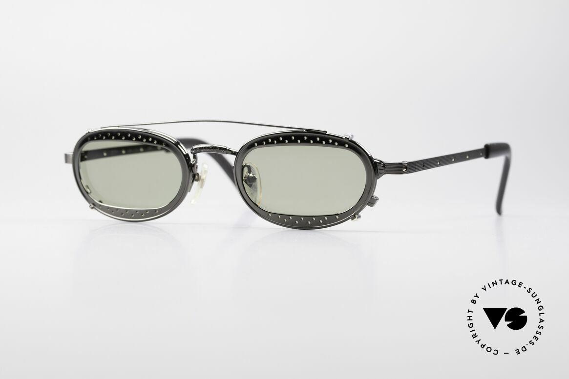 Jean Paul Gaultier 56-7116 Limitierte 98 Vintage Brille, limitierte Designersonnenbrille von Jean Paul Gaultier, Passend für Herren und Damen