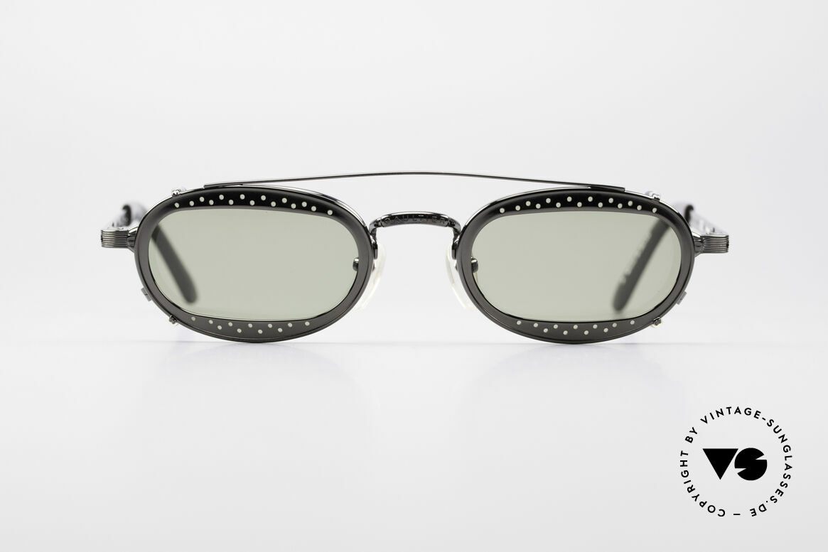 Jean Paul Gaultier 56-7116 Limitierte 98 Vintage Brille, Nr. 4729 von 7000 (weltweit nur 7000 Stück produziert), Passend für Herren und Damen