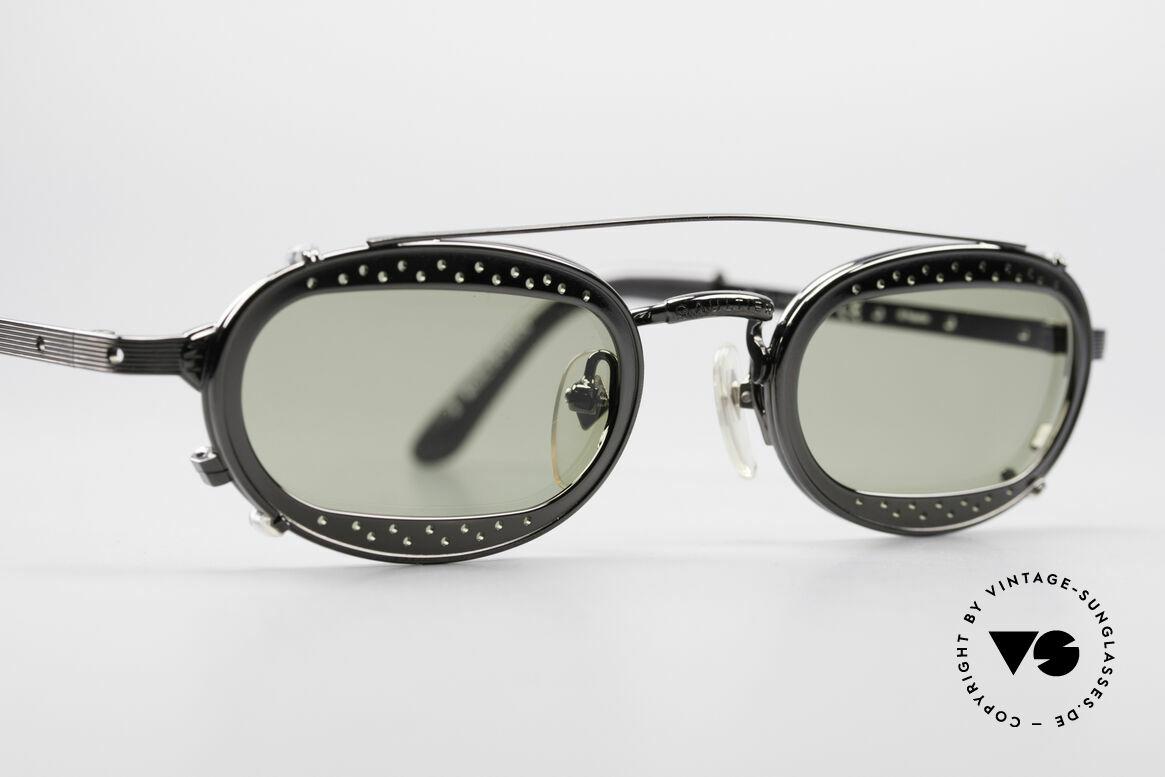 Jean Paul Gaultier 56-7116 Limitierte 98 Vintage Brille, einzigartiges Design & high-end Qualität (Japan made), Passend für Herren und Damen