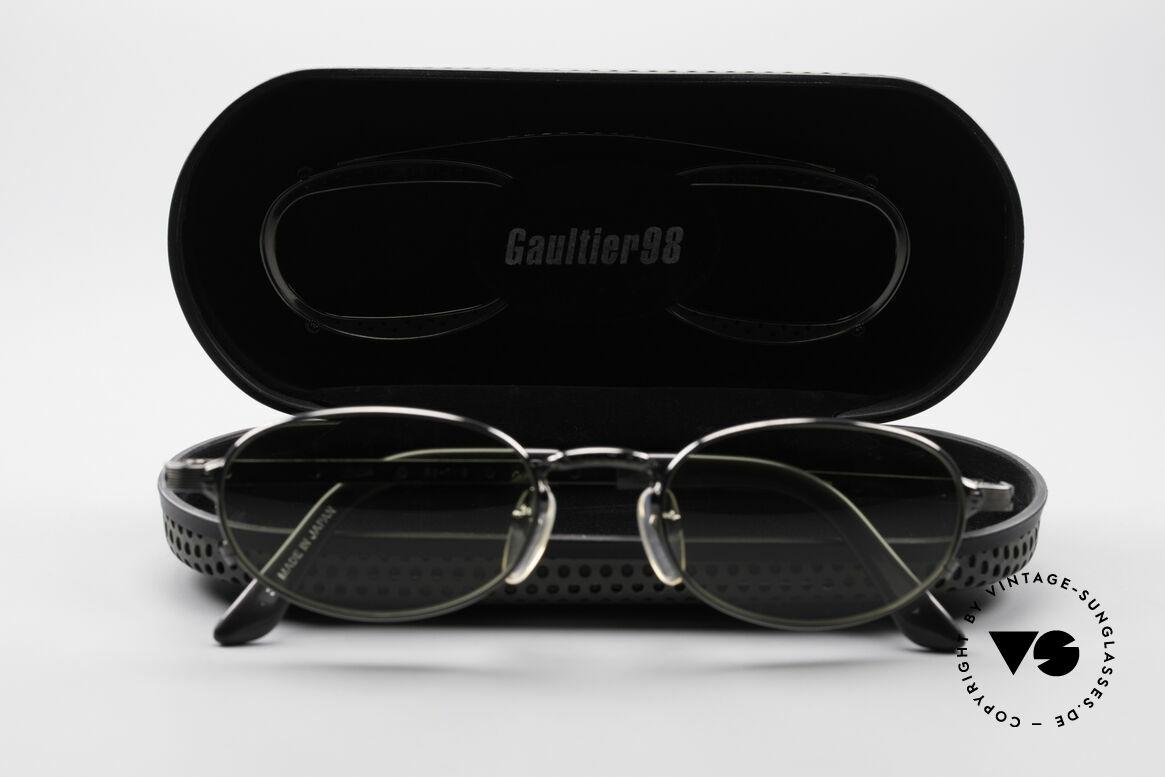 Jean Paul Gaultier 56-7116 Limitierte 98 Vintage Brille, ungetragen, kostbar und selten = wahres Sammlerstück, Passend für Herren und Damen