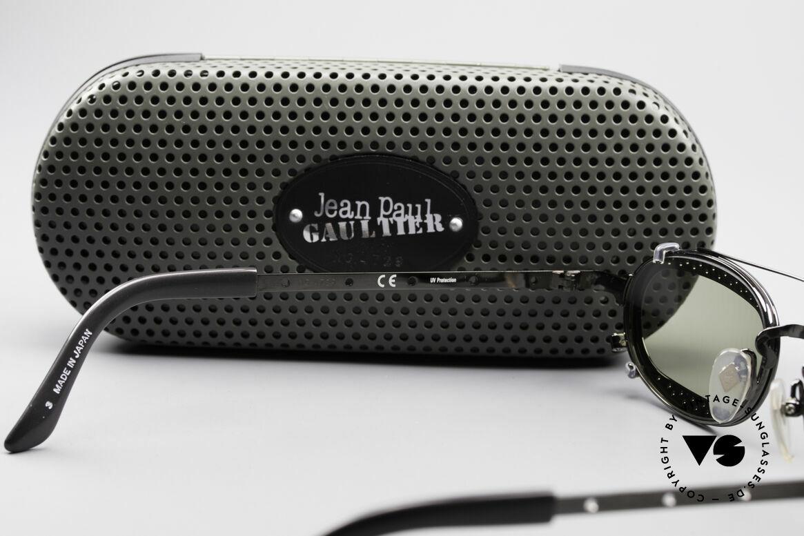 Jean Paul Gaultier 56-7116 Limitierte 98 Vintage Brille, Größe: medium, Passend für Herren und Damen