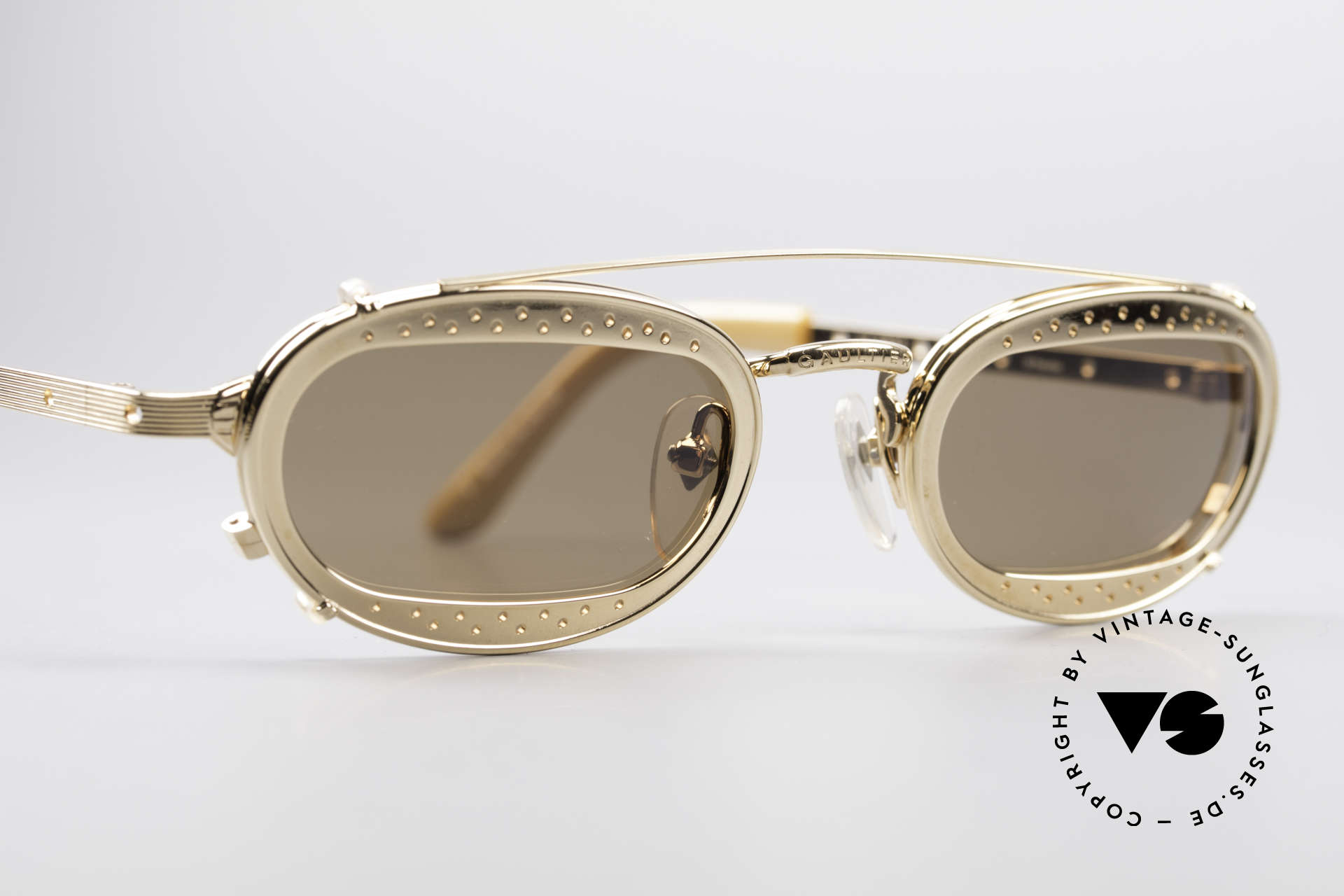 Jean Paul Gaultier 56-7116 Limited Edition Vintage Brille, einzigartiges Design & high-end Qualität (Japan made), Passend für Herren und Damen