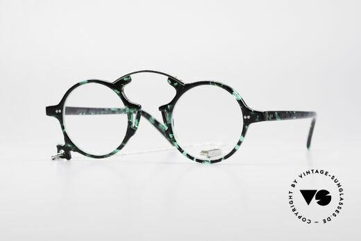 Jean Paul Gaultier 58-0271 Steampunk Vintage Brille Details