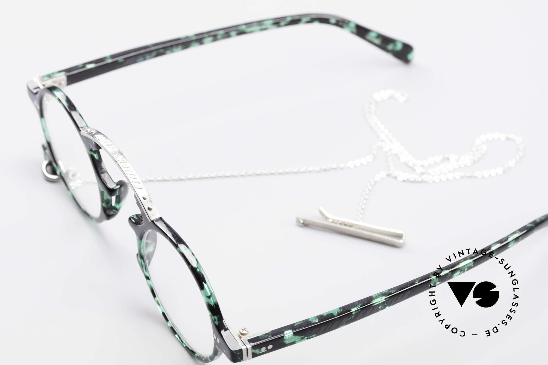 Jean Paul Gaultier 58-0271 Steampunk Vintage Brille, KEINE RETROMODE; ein seltenes Original von 1995!, Passend für Herren und Damen