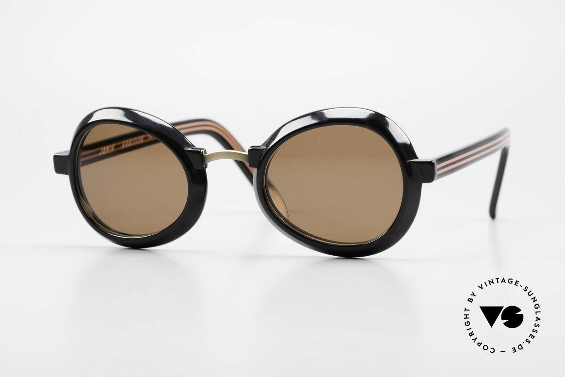 Jean Paul Gaultier 58-1274 Junior Gaultier Vintage Brille, extravagante Jean P. Gaultier vintage Sonnenbrille, Passend für Herren und Damen