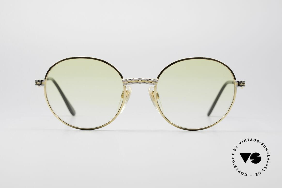 Bugatti EB508 Runde Migos Vintage Brille, vintage Bugatti Sonnenbrille in unglaublicher Qualität, Passend für Herren