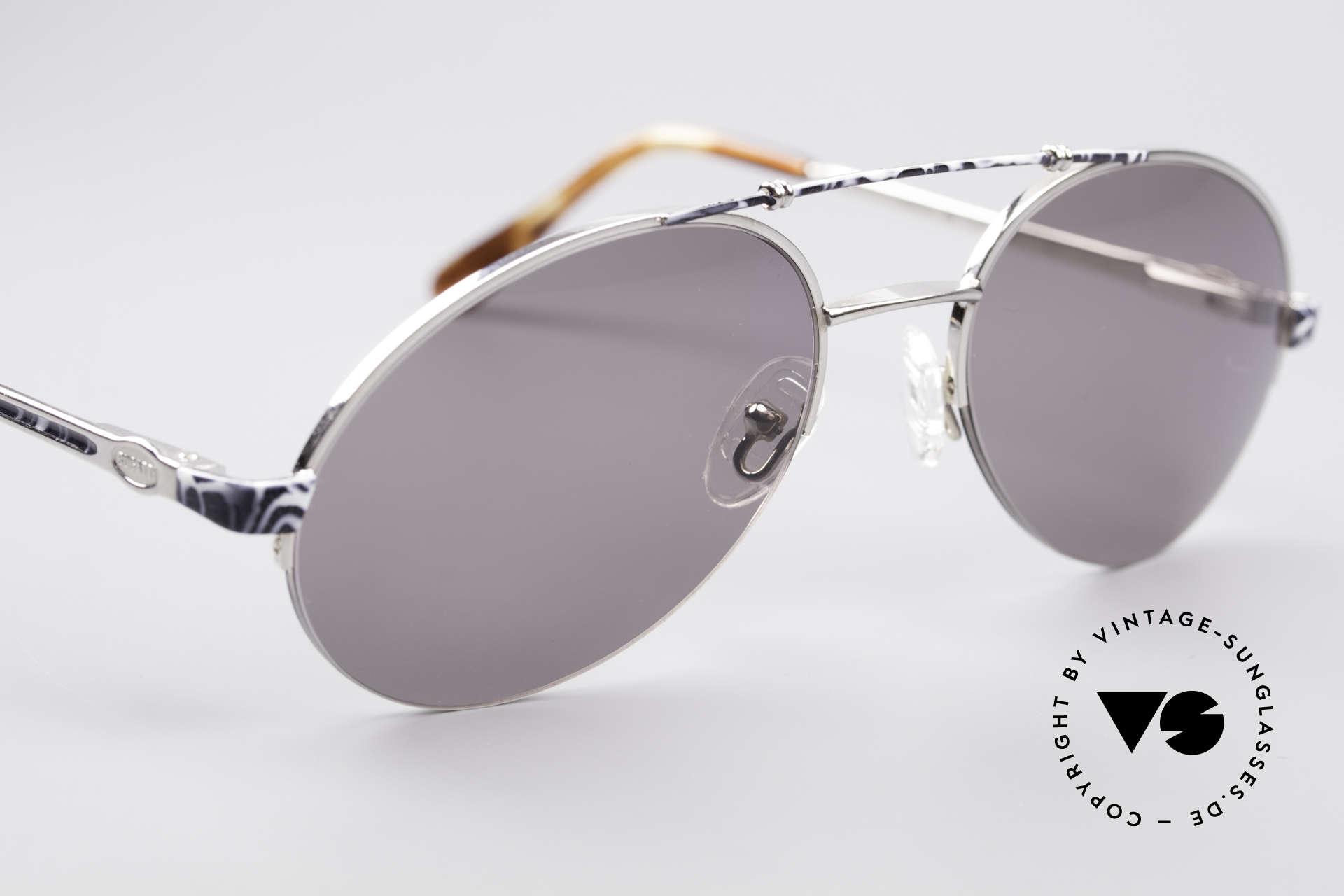 Bugatti 14651 90er Vintage Herrenbrille, ungetragen (wie alle unsere vintage BUGATTI Brillen), Passend für Herren