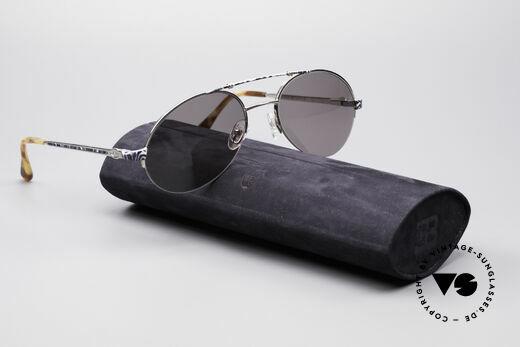 Bugatti 14651 90er Vintage Herrenbrille, KEINE Retrosonnenbrille; ein echtes altes ORIGINAL!, Passend für Herren
