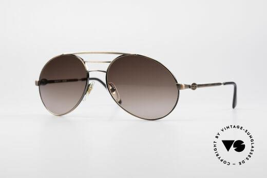 Bugatti 65090 80er Vintage Herrenbrille Details