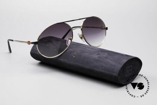 Bugatti 65837 80er Luxus Vintage Brille, KEINE Retrosonnenbrille; ein 30 Jahre altes ORIGINAL, Passend für Herren