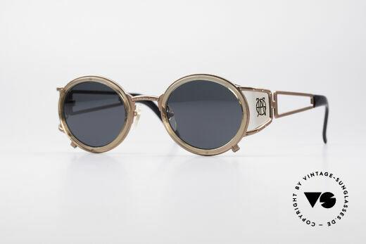 Jean Paul Gaultier 58-6201 Designer Steampunk Brille Details