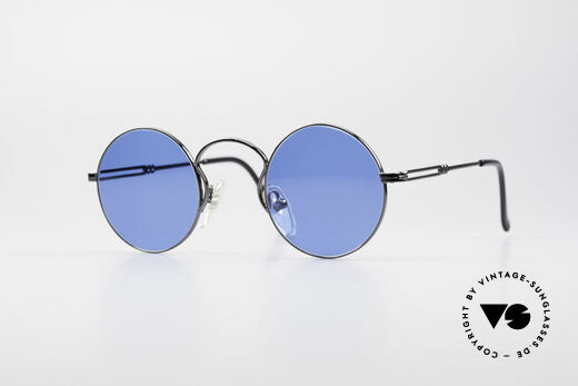 Jean Paul Gaultier 55-0172 Runde 90er Sonnenbrille Details
