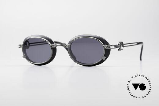 Jean Paul Gaultier 58-5201 Rare Steampunk Brille Details