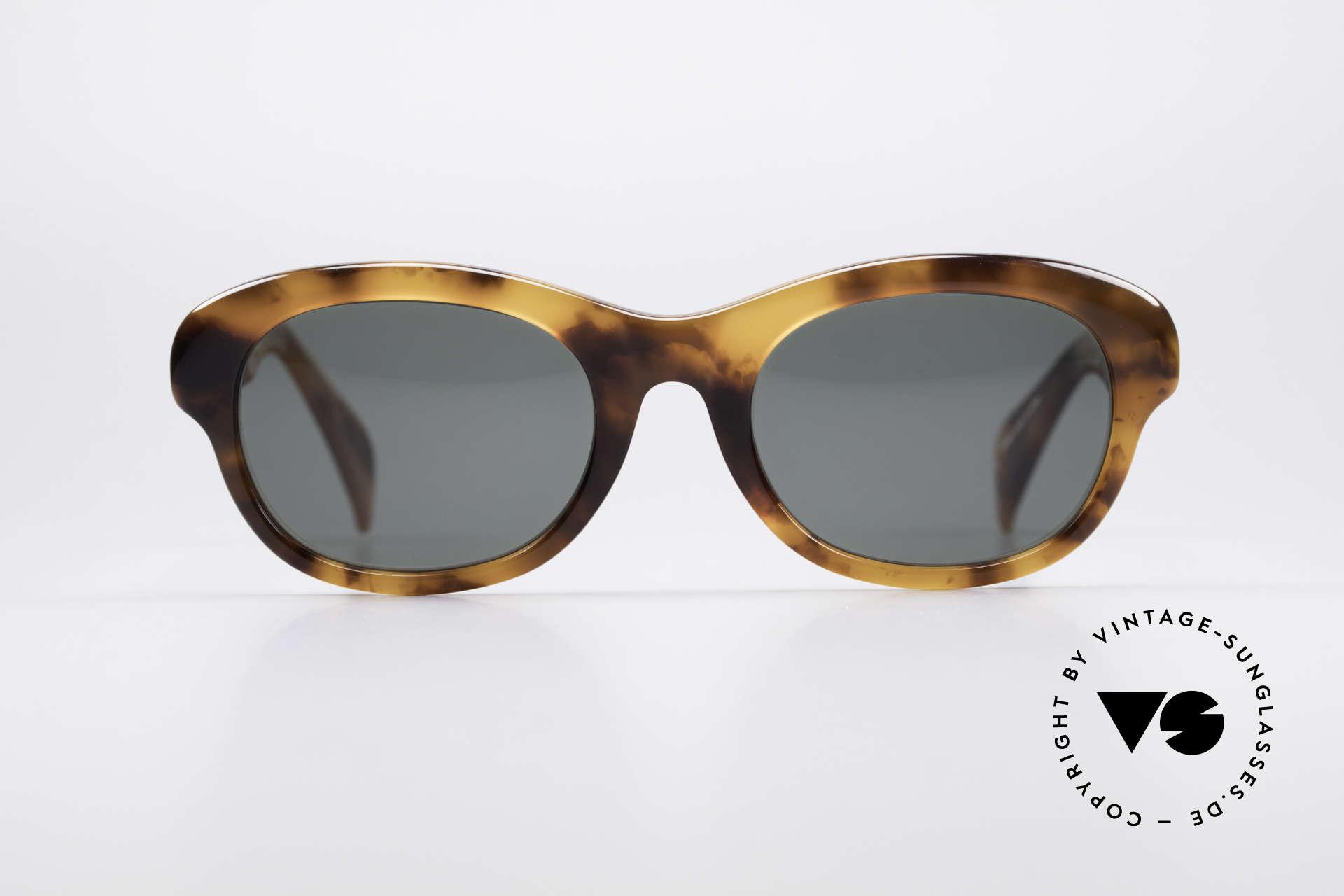 Jean Paul Gaultier 56-2071 No Retro Echt Vintage Brille, tolle Materialkombinationen in wahrer Top-Qualität, Passend für Damen