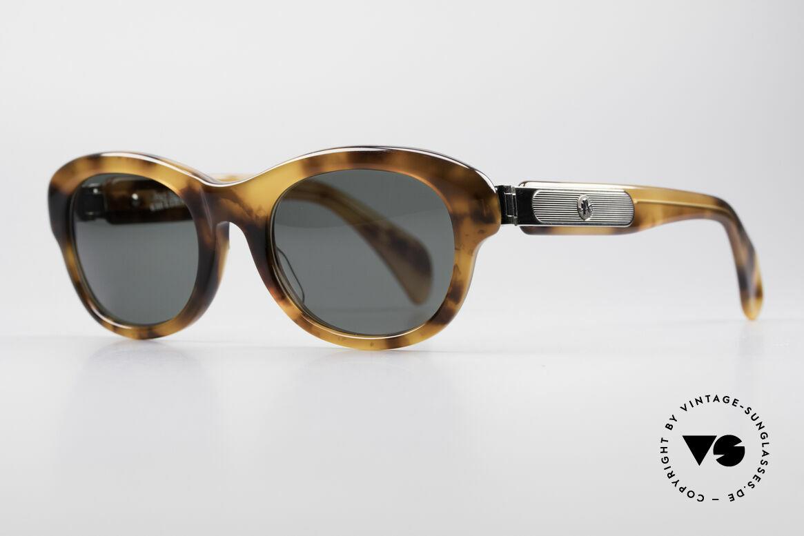Jean Paul Gaultier 56-2071 No Retro Echt Vintage Brille, massiver Rahmen & markante Metall-Applikationen, Passend für Damen