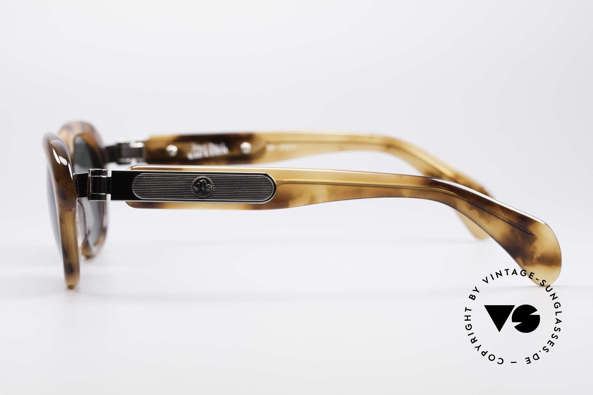 Jean Paul Gaultier 56-2071 No Retro Echt Vintage Brille, ungetragen (wie all unsere vintage Gaultier Brillen), Passend für Damen