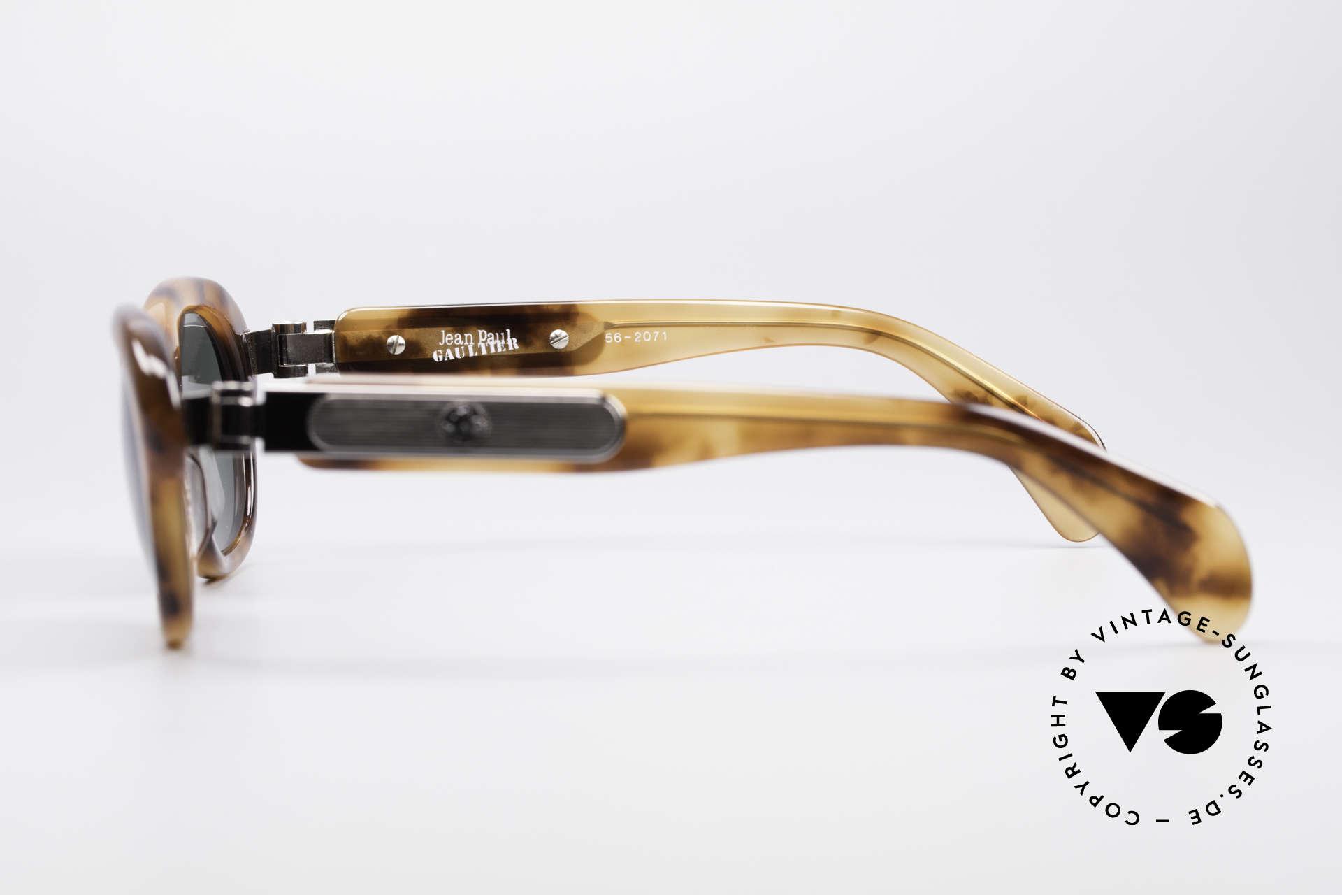 Jean Paul Gaultier 56-2071 No Retro Echt Vintage Brille, KEINE RETROBRILLE; ein altes Original von 1995/96, Passend für Damen
