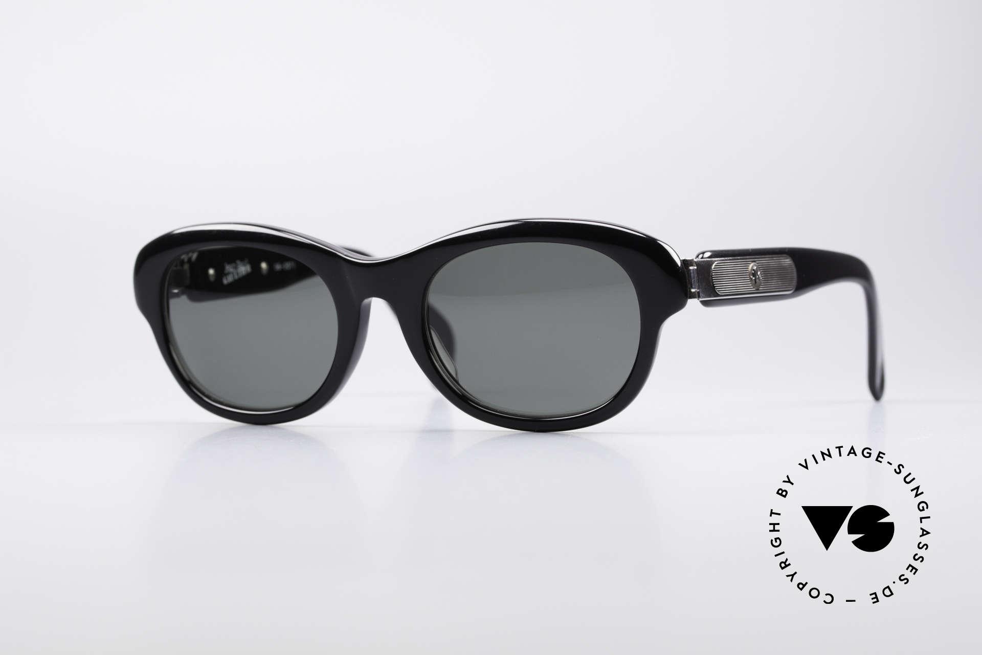 Jean Paul Gaultier 56-2071 No Retro True Vintage Brille, vintage 1990er Jean Paul Gaultier Kultsonnenbrille, Passend für Damen