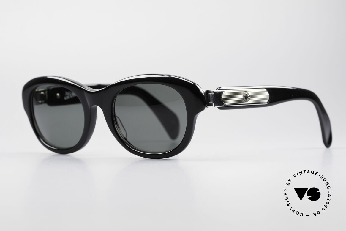 Jean Paul Gaultier 56-2071 No Retro True Vintage Brille, massiver Rahmen & markante Metall-Applikationen, Passend für Damen