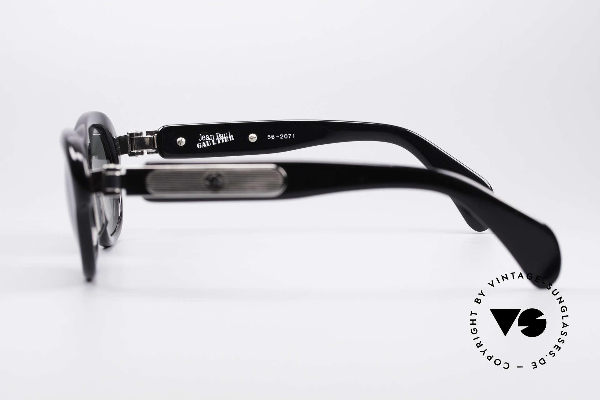 Jean Paul Gaultier 56-2071 No Retro True Vintage Brille, KEINE RETROBRILLE; ein altes Original von 1995/96, Passend für Damen