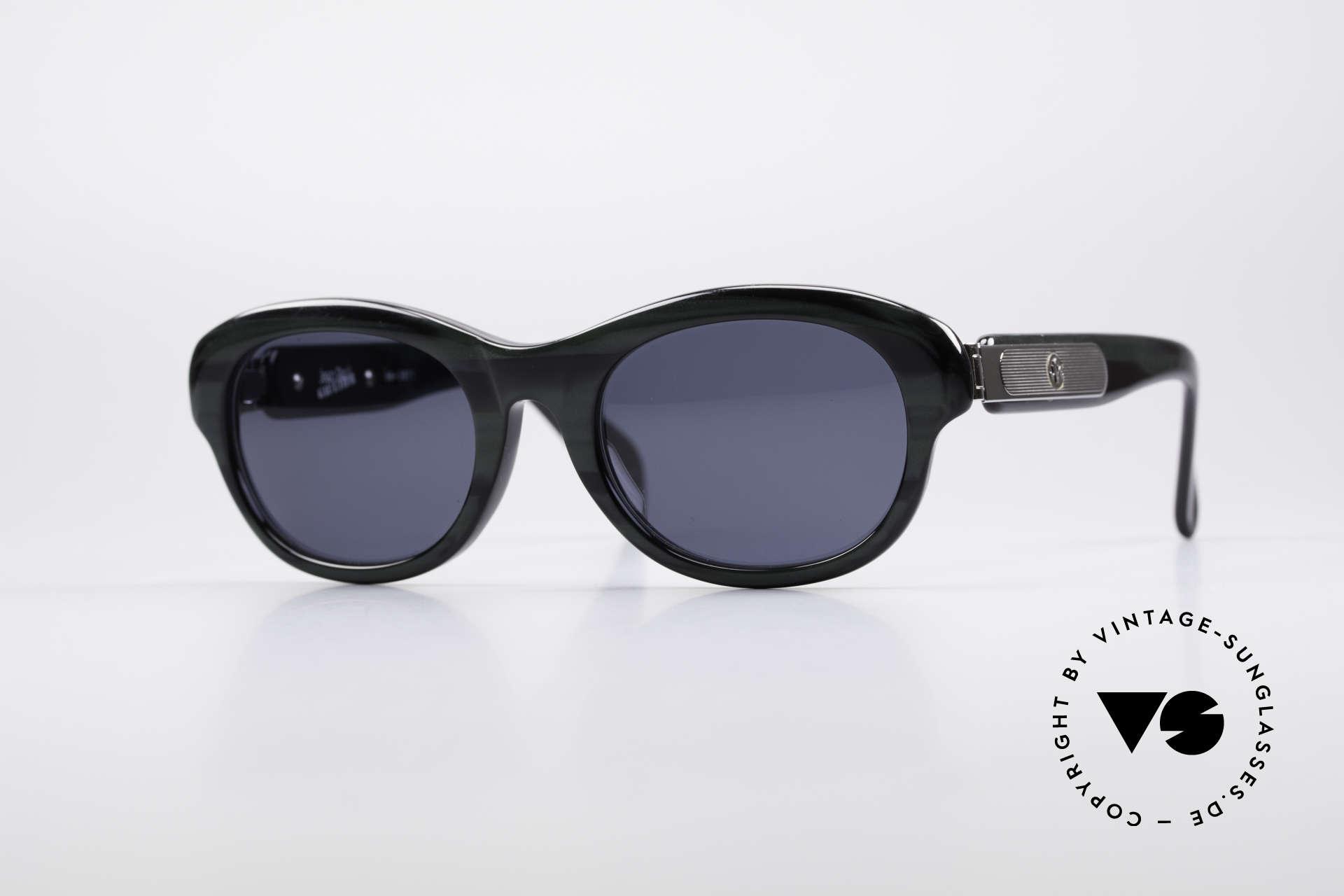 Jean Paul Gaultier 56-2071 True Vintage No Retro Brille, vintage 1990er Jean Paul Gaultier Kultsonnenbrille, Passend für Damen