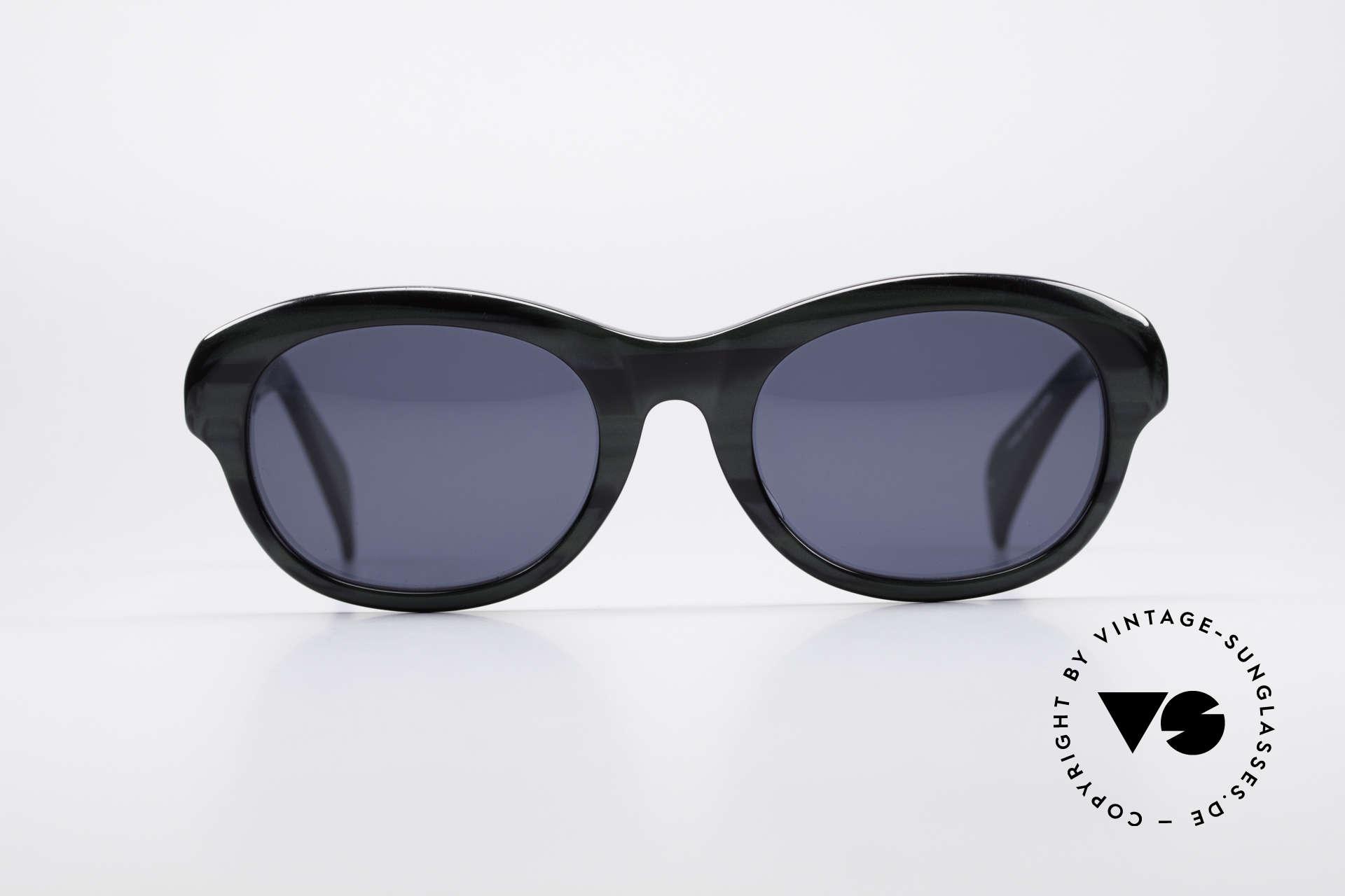 Jean Paul Gaultier 56-2071 True Vintage No Retro Brille, tolle Materialkombinationen in wahrer Top-Qualität, Passend für Damen