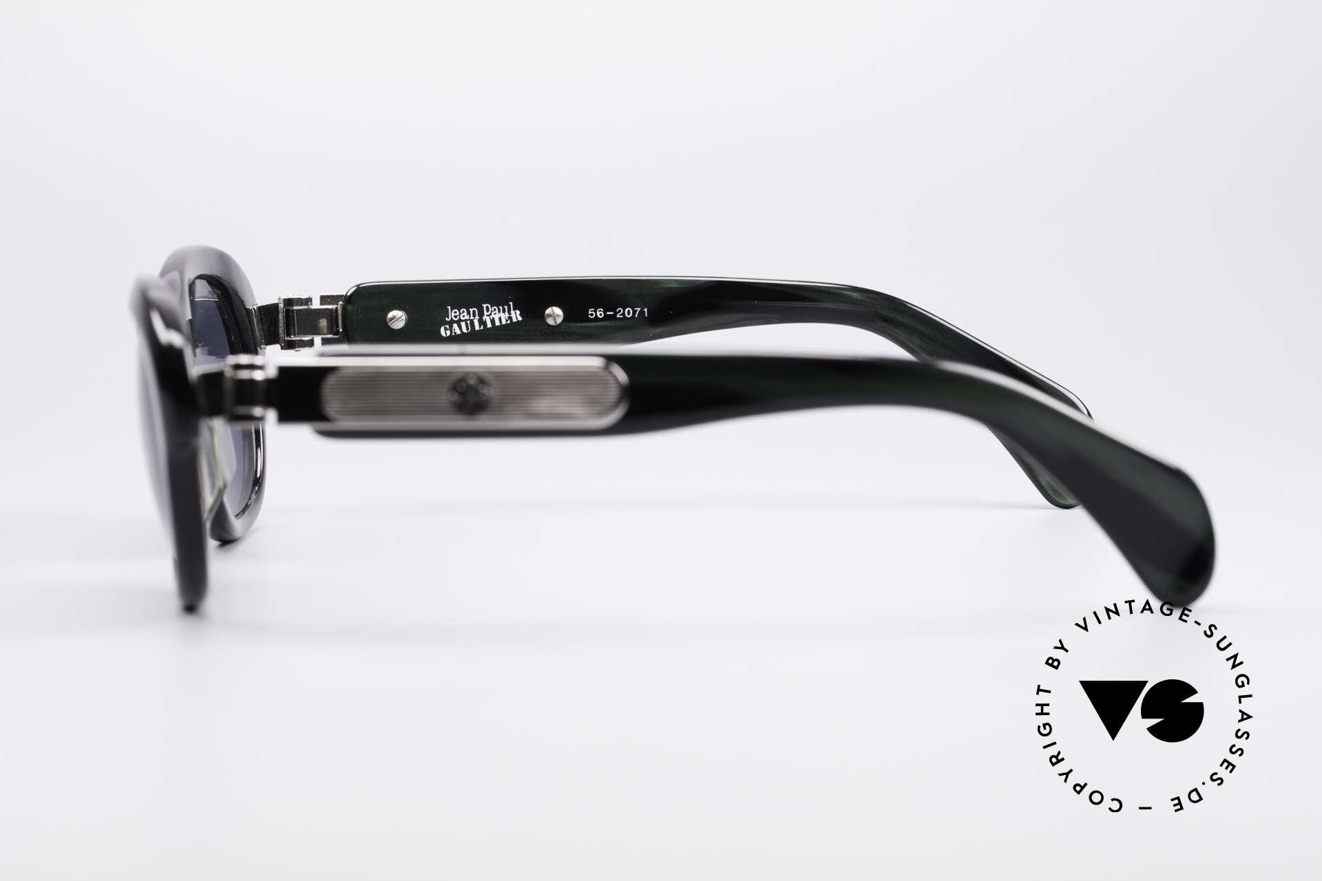 Jean Paul Gaultier 56-2071 True Vintage No Retro Brille, KEINE RETROBRILLE; ein altes Original von 1995/96, Passend für Damen