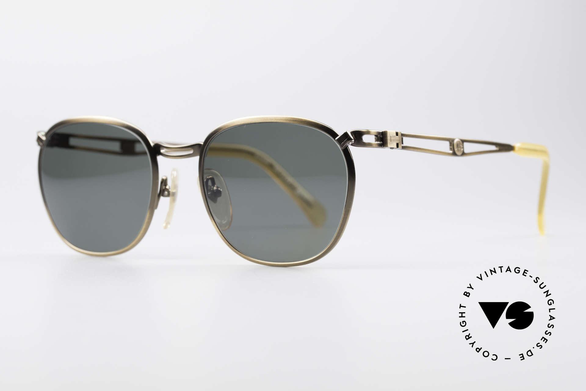 Jean Paul Gaultier 56-2177 90er Designer Sonnenbrille, aber gewohnte Spitzen-Qualität; wie aus einem Stück, Passend für Herren und Damen