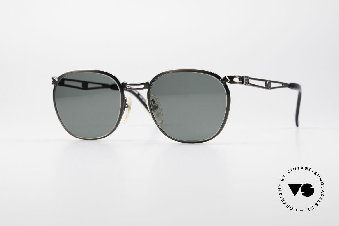 Jean Paul Gaultier 56-2177 Rare Designer Sonnenbrille, 90er Jahre Jean Paul GAULTIER Designersonnenbrille, Passend für Herren und Damen