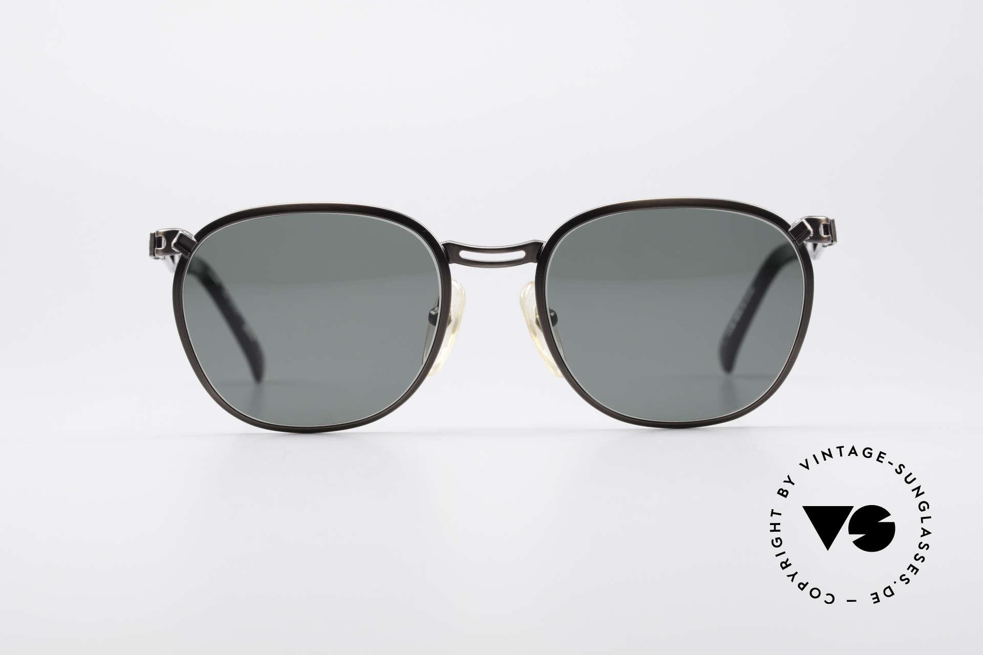 Jean Paul Gaultier 56-2177 Rare Designer Sonnenbrille, ungewöhnlich schlichtes Design vom Exzentriker JPG, Passend für Herren und Damen