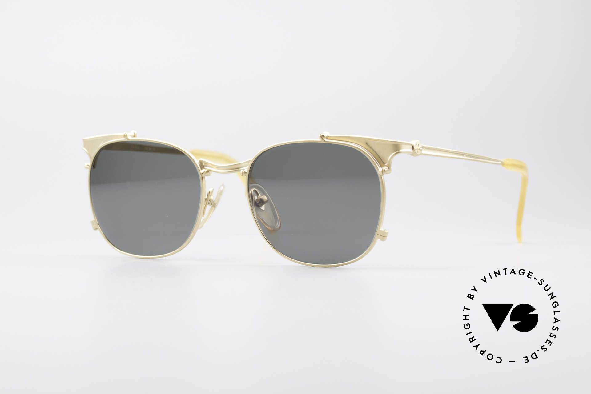 Jean Paul Gaultier 56-2175 Rare Vintage Sonnenbrille, rare vintage JEAN PAUL GAULTIER Sonnenbrille, Passend für Herren und Damen
