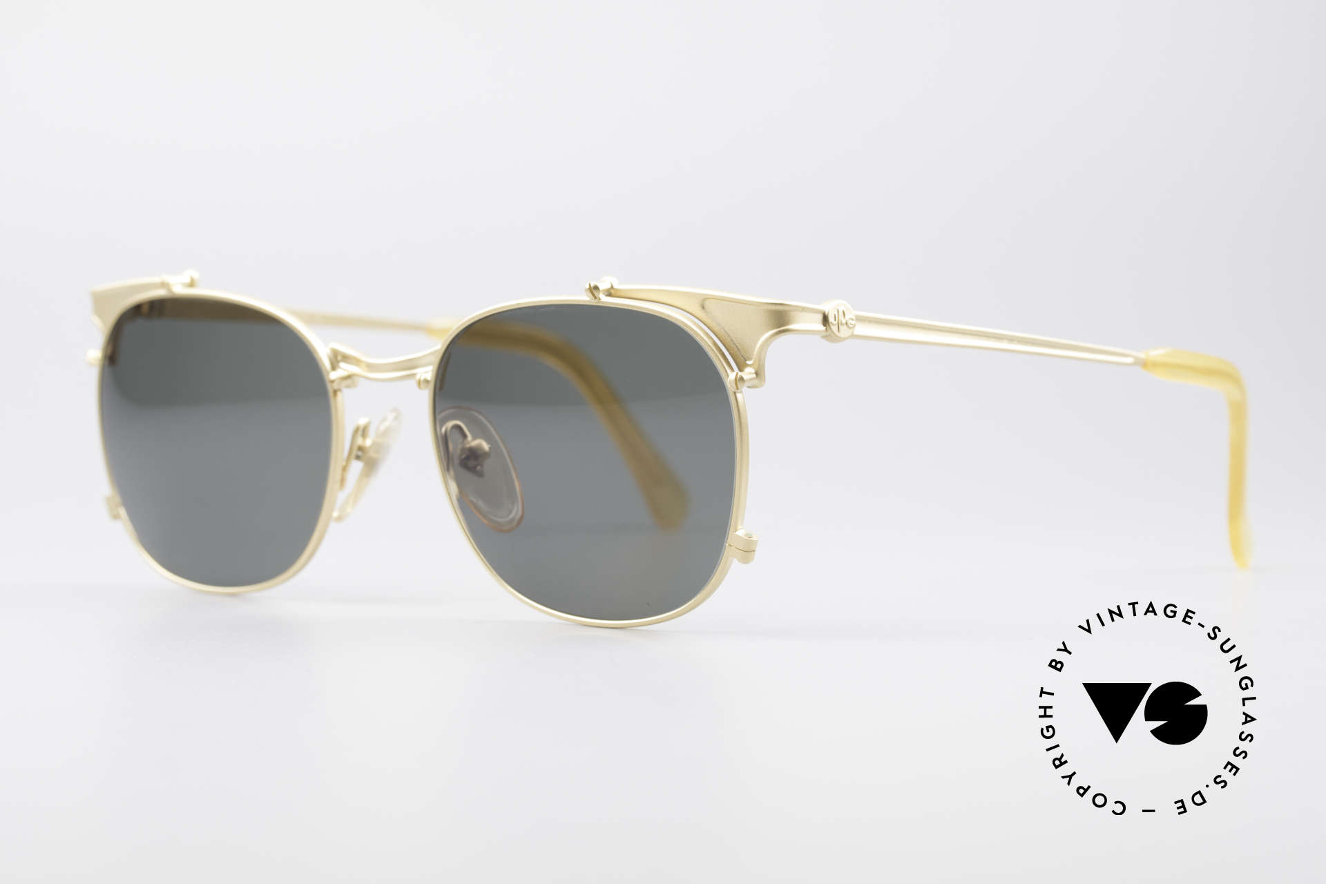 Jean Paul Gaultier 56-2175 Rare Vintage Sonnenbrille, J.P.G. Unisex-Modell in absoluter TOP-Qualität, Passend für Herren und Damen