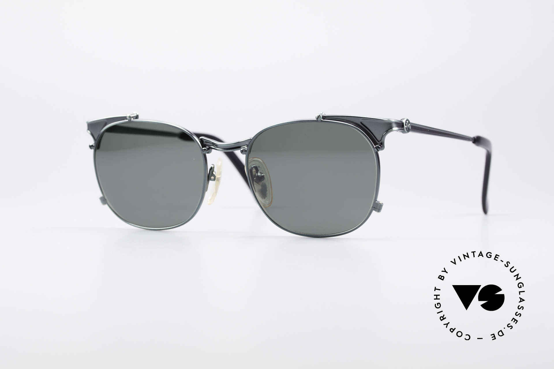 Jean Paul Gaultier 56-2175 Rare Designer Sonnenbrille, rare vintage JEAN PAUL GAULTIER Sonnenbrille, Passend für Herren und Damen