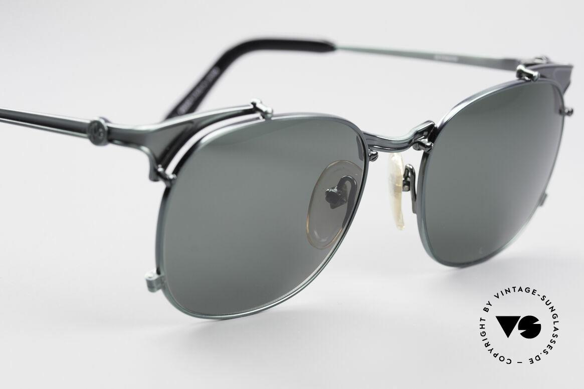 Jean Paul Gaultier 56-2175 Rare Designer Sonnenbrille, unbenutzt (wie alle unsere 1990er Sonnenbrillen), Passend für Herren und Damen