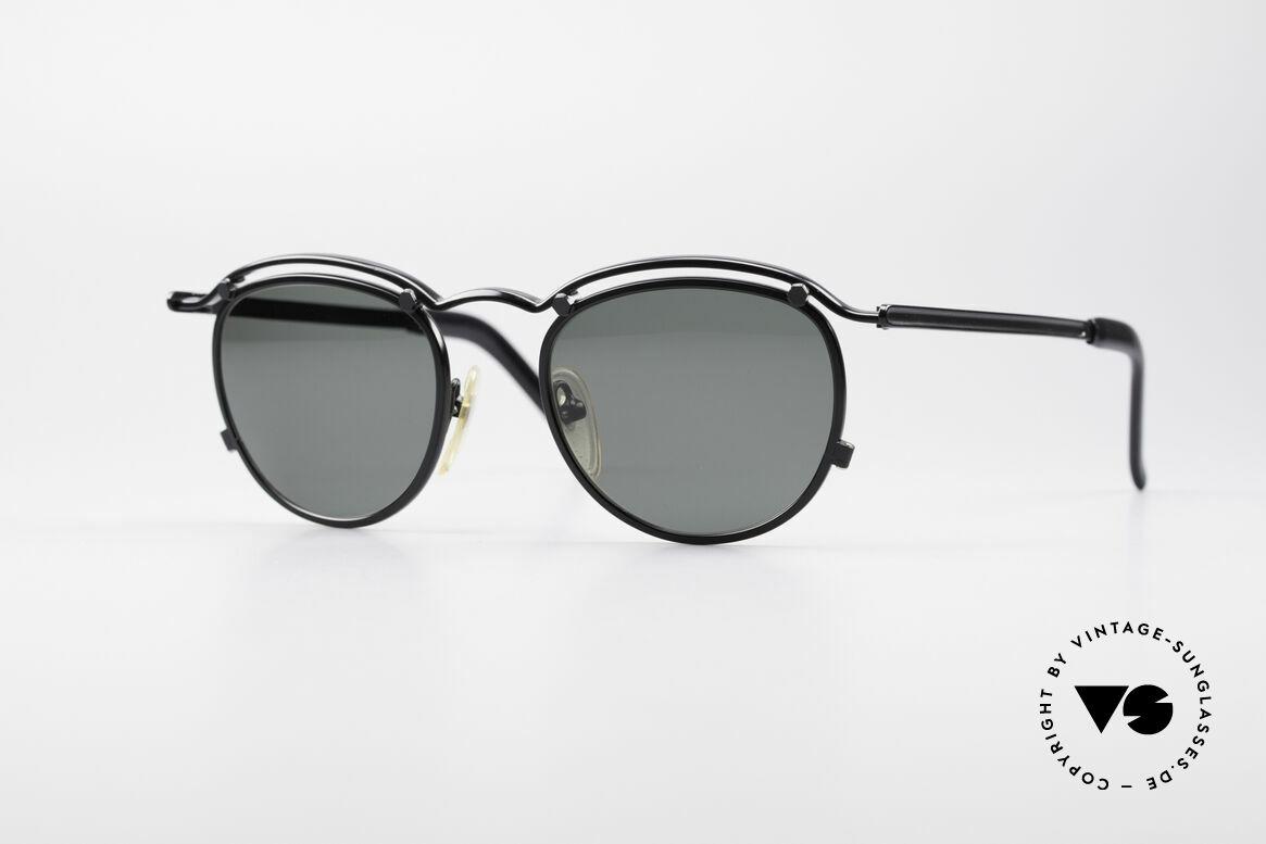Jean Paul Gaultier 56-1174 Steampunk Panto Brille, 90er Jahre Designer-Brille von Jean Paul GAULTIER, Passend für Herren und Damen
