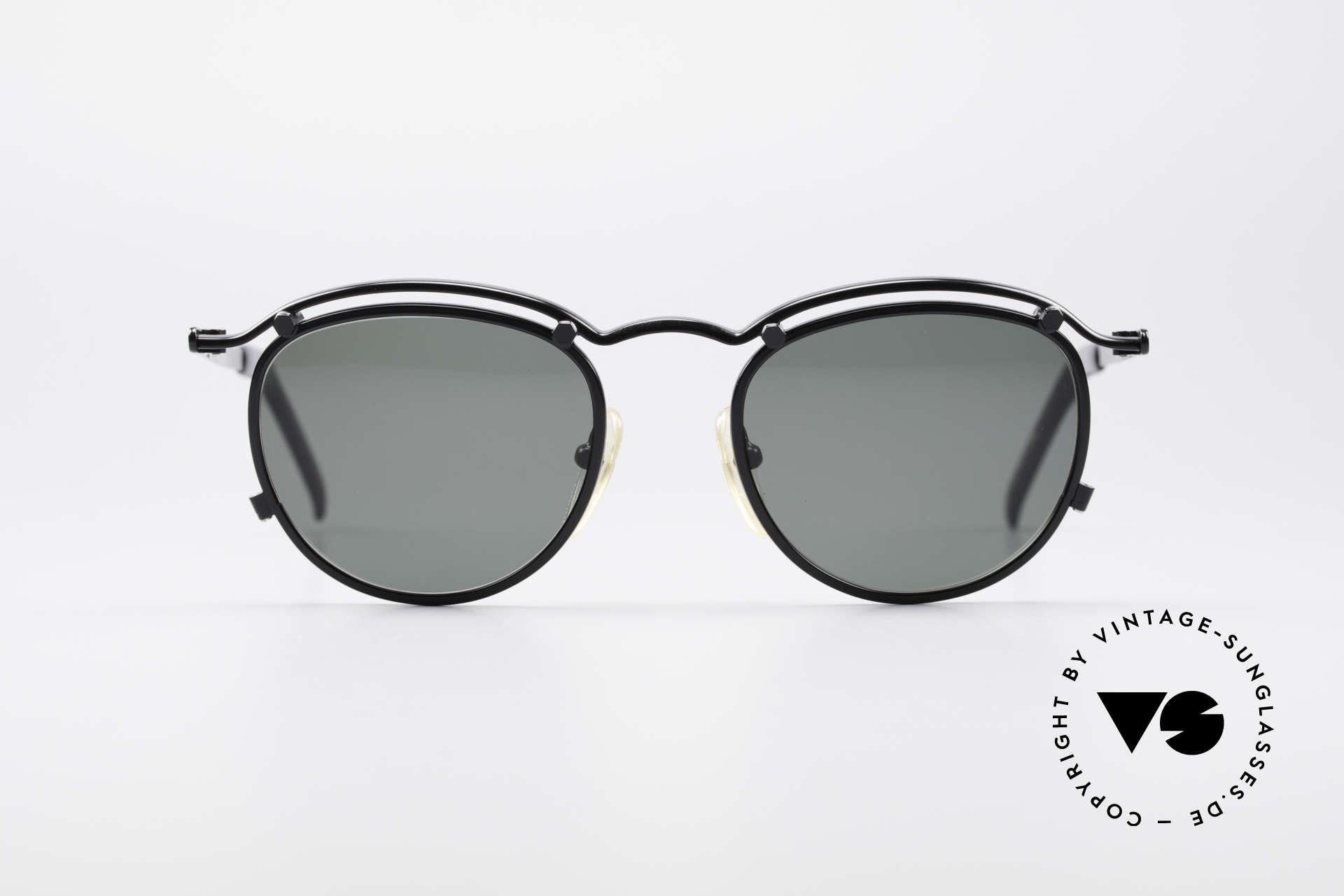 Jean Paul Gaultier 56-1174 Steampunk Panto Brille, ein etwas modifizierter Panto-Stil à la 'Steampunk', Passend für Herren und Damen