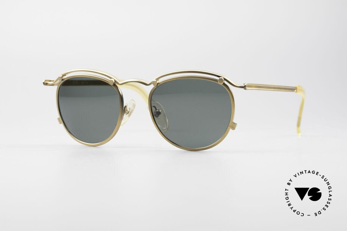 Jean Paul Gaultier 56-1174 Steampunk Panto Fassung, 90er Jahre Designer-Brille von Jean Paul GAULTIER, Passend für Herren und Damen