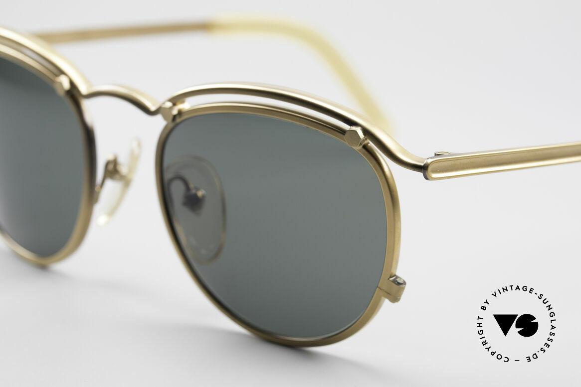 Jean Paul Gaultier 56-1174 Steampunk Panto Fassung, ungetragen (wie alle unsere Designer-Sonnenbrillen), Passend für Herren und Damen