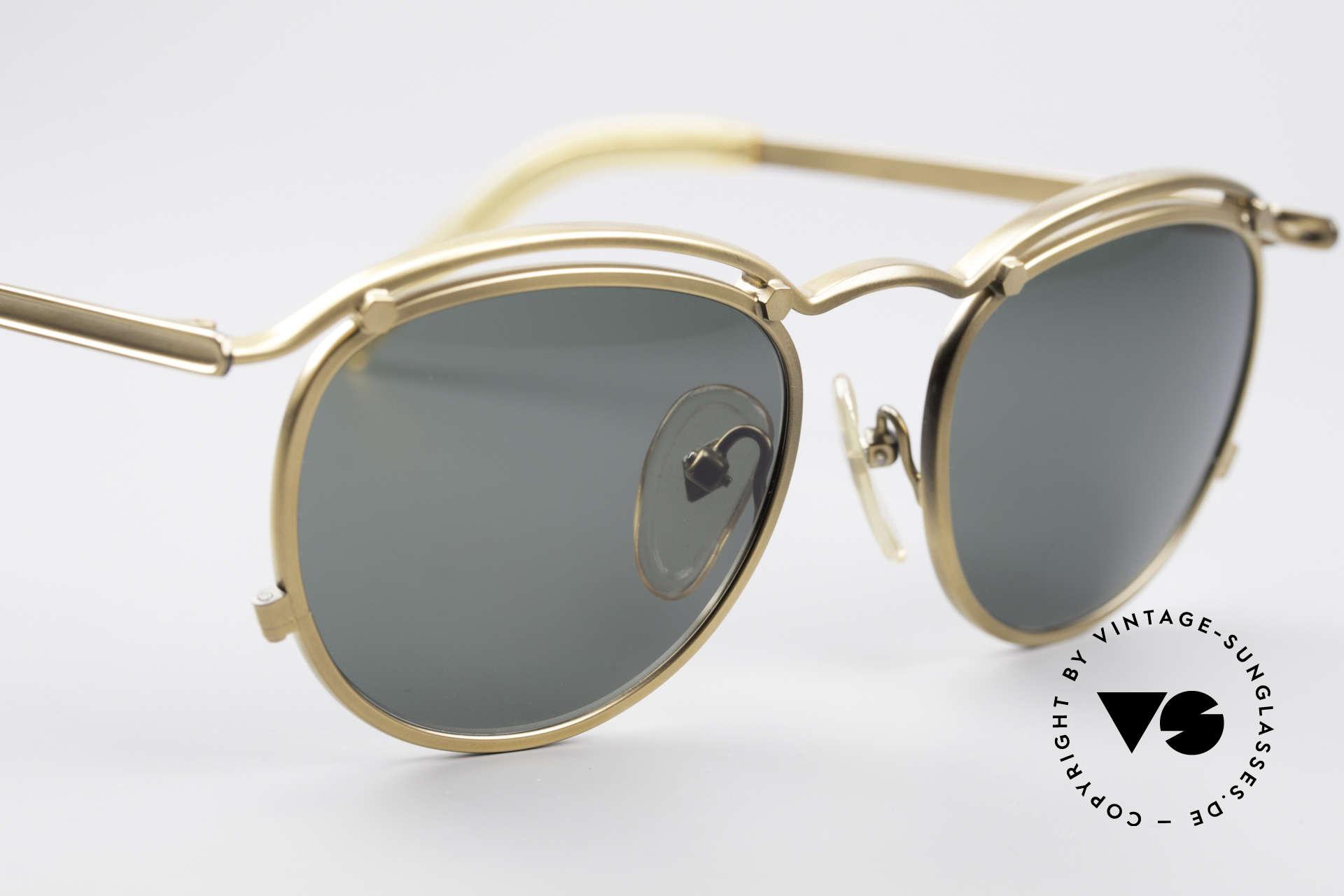 Jean Paul Gaultier 56-1174 Steampunk Panto Fassung, KEINE RETRO-Sonnenbrille, 100% vintage ORIGINAL!, Passend für Herren und Damen