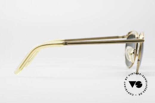 Jean Paul Gaultier 56-1174 Steampunk Panto Fassung, die Sonnengläser können ggf. beliebig ersetzt werden, Passend für Herren und Damen