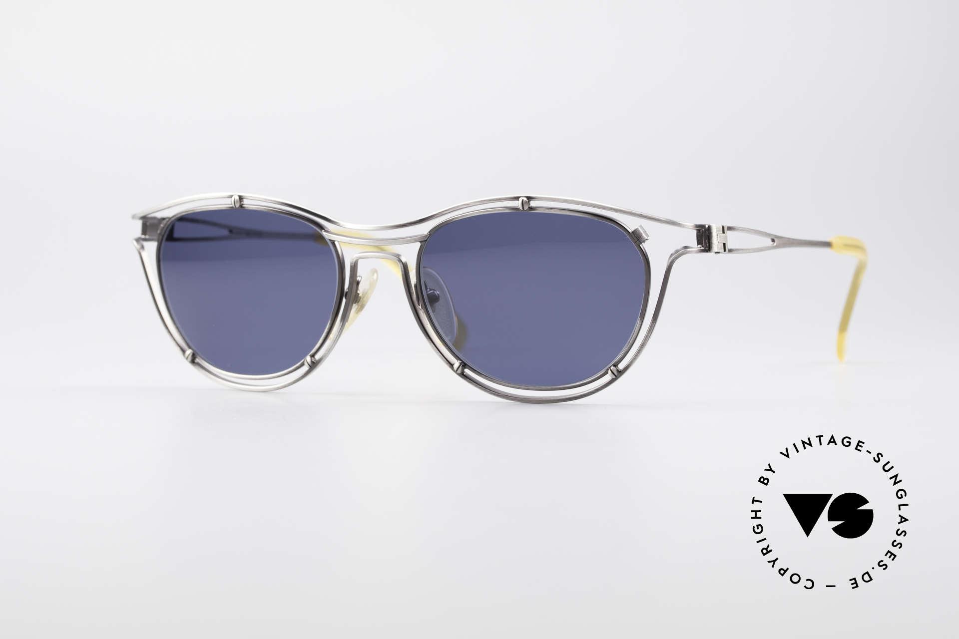 Jean Paul Gaultier 56-2176 Echte Designer Sonnenbrille, spektakuläre Jean Paul GAULTIER Designer-Brille, Passend für Herren und Damen