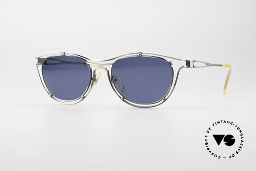 Jean Paul Gaultier 56-2176 Echte Designer Sonnenbrille Details