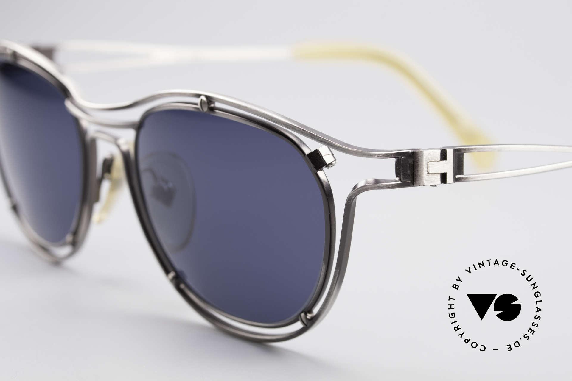 Jean Paul Gaultier 56-2176 Echte Designer Sonnenbrille, außergewöhnliche Spitzen-Qualität; made in Japan, Passend für Herren und Damen