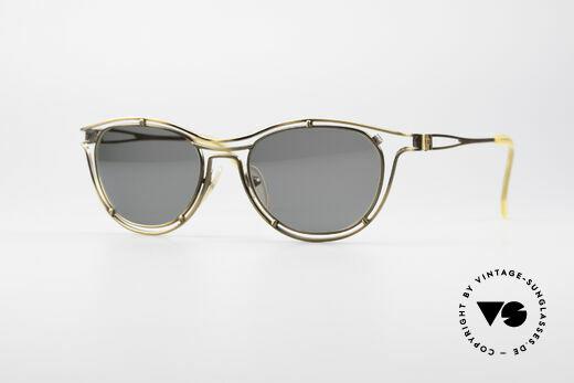 Jean Paul Gaultier 56-2176 90er Designer Sonnenbrille Details