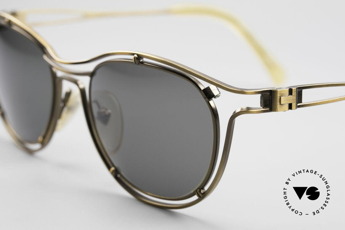 Jean Paul Gaultier 56-2176 90er Designer Sonnenbrille, außergewöhnliche Spitzen-Qualität; made in Japan, Passend für Herren und Damen