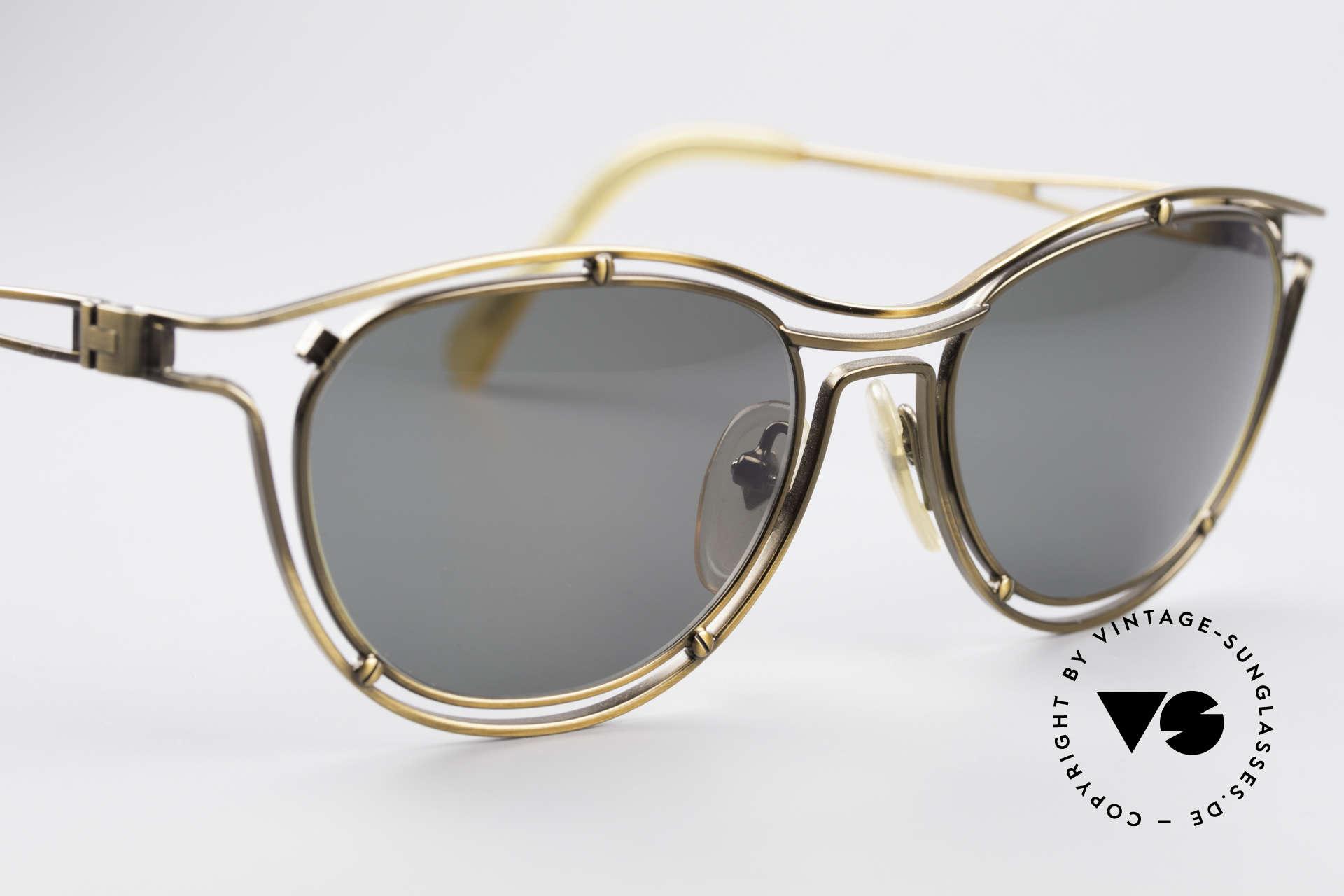 Jean Paul Gaultier 56-2176 90er Designer Sonnenbrille, ungetragen; wie alle unsere 90er JPG Sonnenbrillen, Passend für Herren und Damen