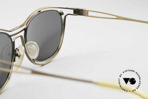 Jean Paul Gaultier 56-2176 90er Designer Sonnenbrille, KEINE RETRObrille; sondern ein Original von 1994, Passend für Herren und Damen
