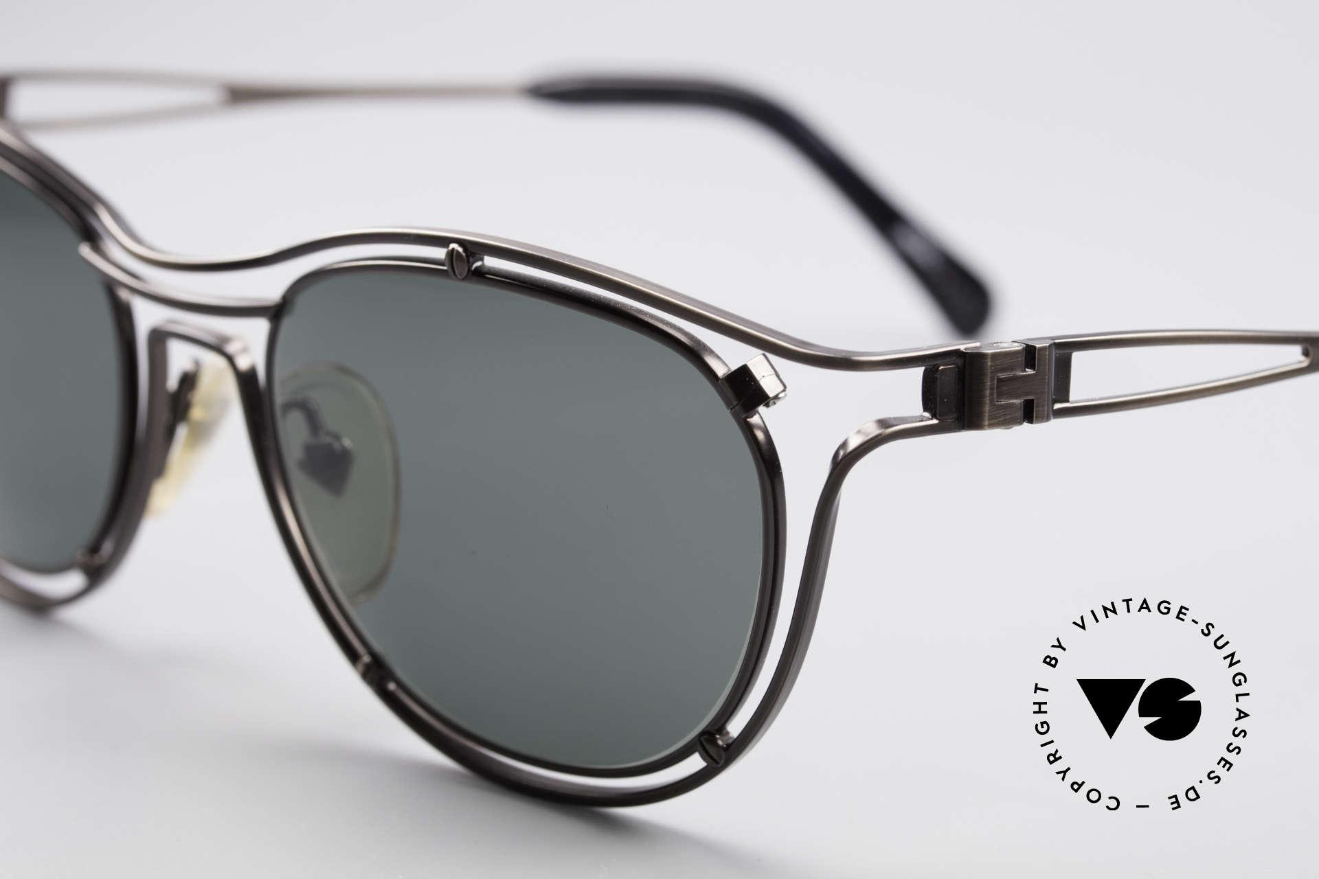 Jean Paul Gaultier 56-2176 Rare Designer Sonnenbrille, außergewöhnliche Spitzen-Qualität; made in Japan, Passend für Herren und Damen