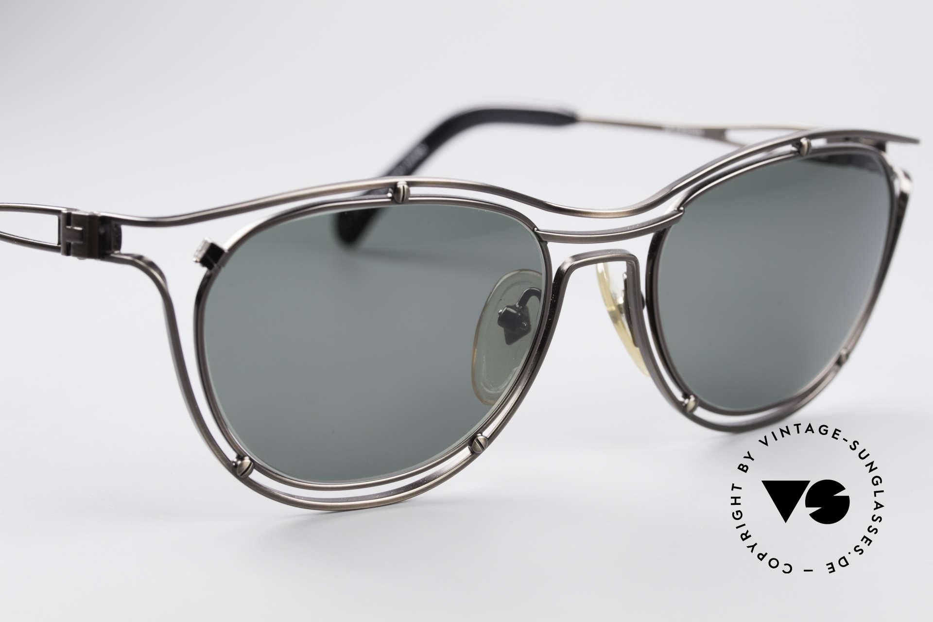 Jean Paul Gaultier 56-2176 Rare Designer Sonnenbrille, ungetragen; wie alle unsere 90er JPG Sonnenbrillen, Passend für Herren und Damen